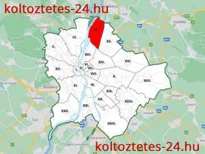 Költöztetés IV. kerület Budapest